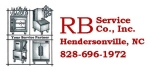RB Service Logo license plate