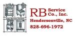 RB Service Logo license plate
