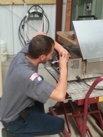 Brandon working 2